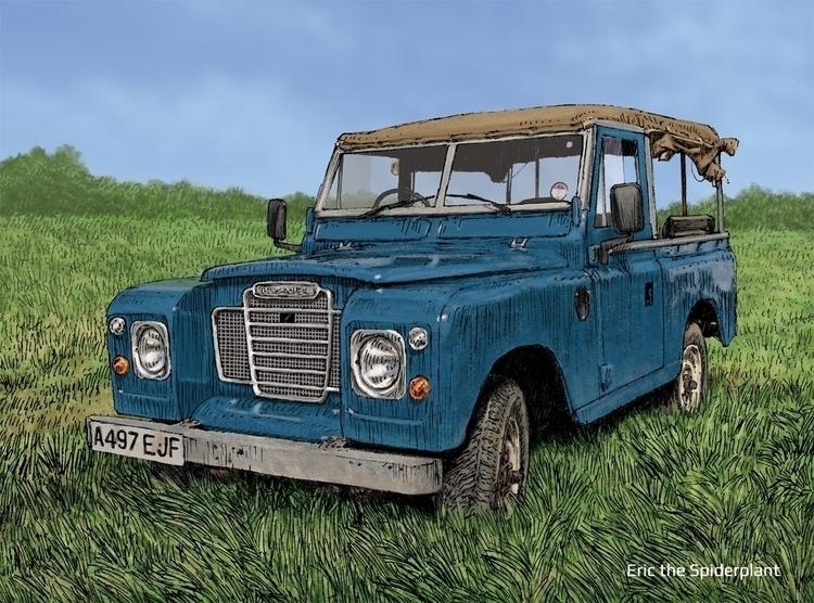 Land Rover Series III Newark - #illustration - dannybriggs | ello