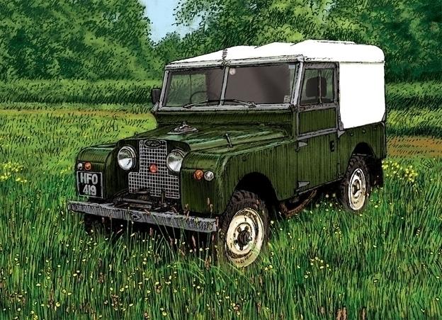 Land Rover Series Kelmarsh. car - dannybriggs | ello
