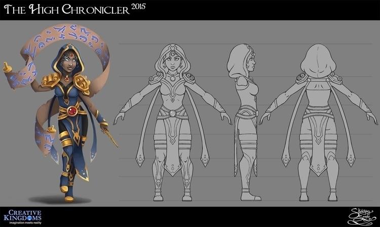 High Chronicler MagiQuest - characterdesign - sketchingsands | ello
