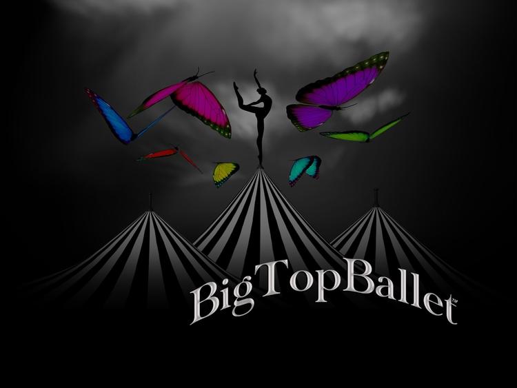 Big Top Ballet Poster - illustration - elizabethboylan | ello