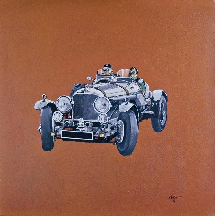 Bentley 6 cabrio. Acrílico sobr - antonio-7460 | ello