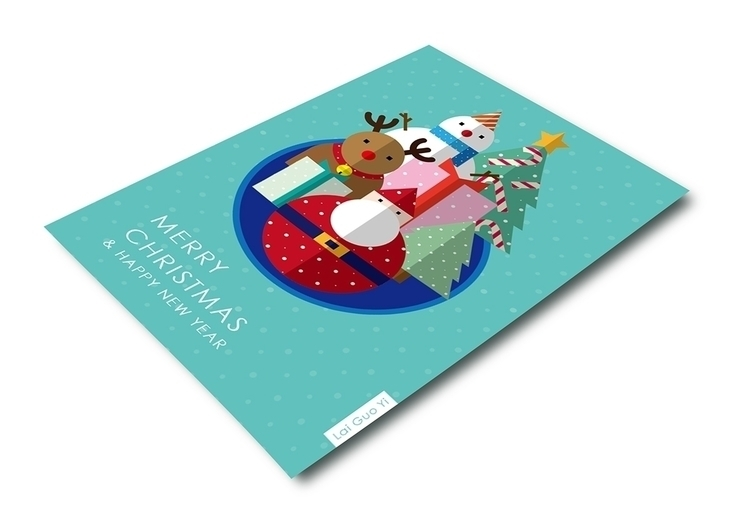 2015 Merry Christmas  - illustration - steve0625   ello