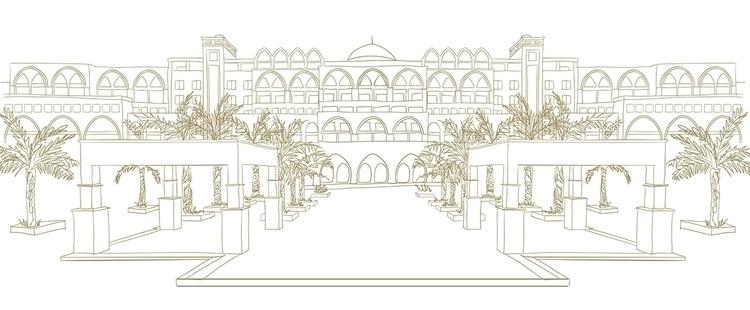 Jumeirah Zabeel Saray - illustration - mp-1845 | ello