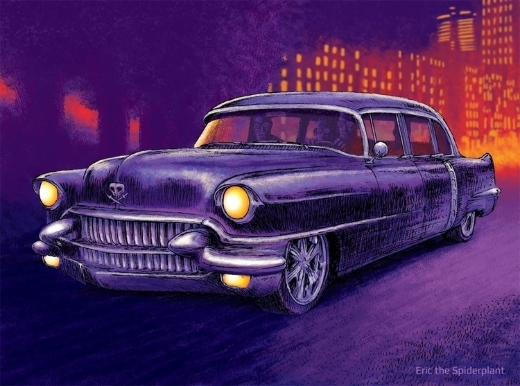 Custom limousine - #illustration - dannybriggs | ello