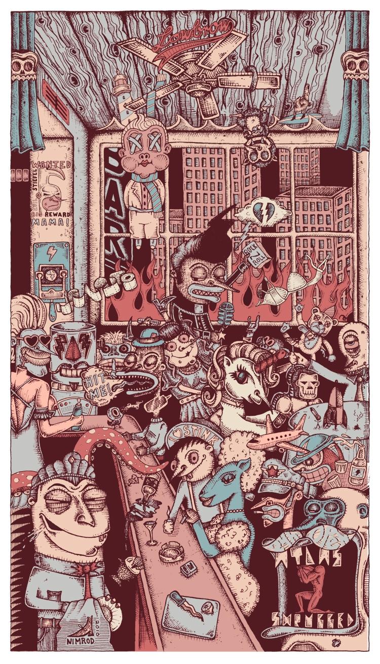 illustration - 1upnimrod | ello