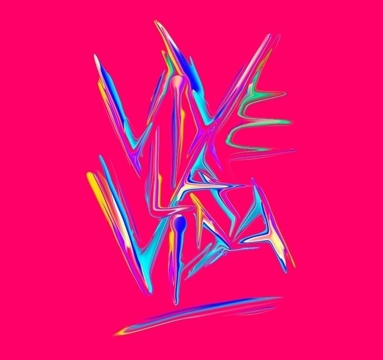 VIVE LA VIDA - illustration, painting - rulos | ello