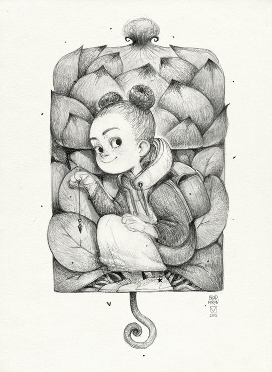 Sketchtober | 008 - painting, illustration - blad_moran | ello
