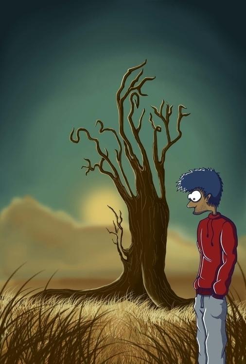 Badass Kid - illustration, characterdesign - mp-1845 | ello