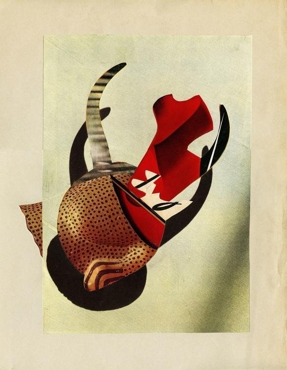 handmade collage métamorphose  - billnoir | ello