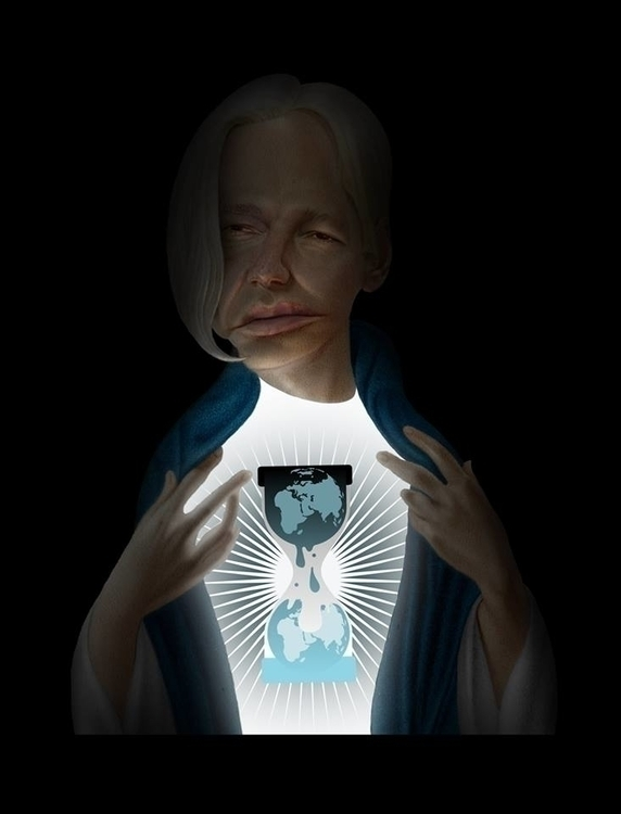 Julian Assange - Messiah Comple - fabiopaolucci | ello
