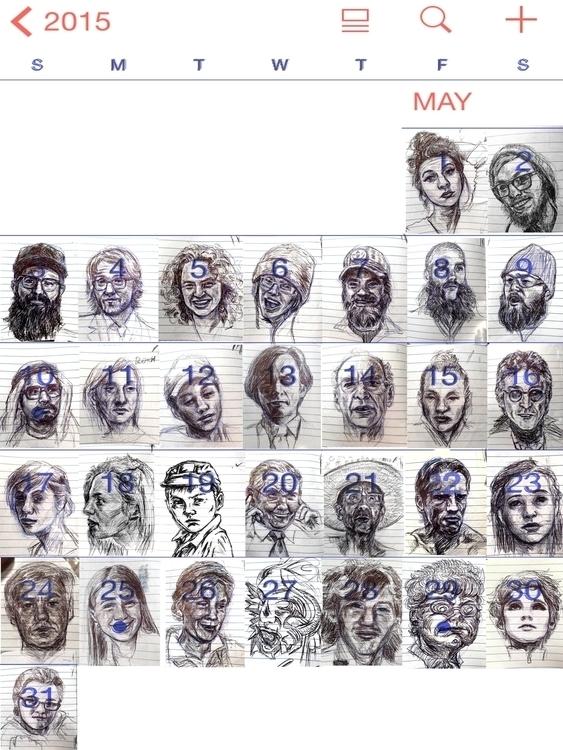 Portrait day year, plan 10 mont - kyleand | ello