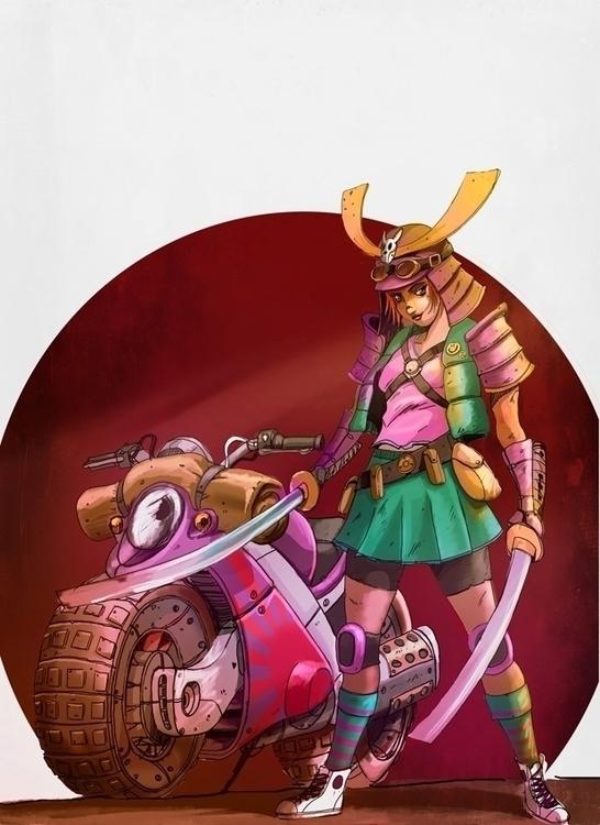 Samurai - yourizered | ello