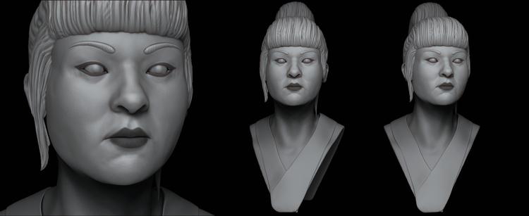 Japanese - 1, characterdesign, sculpture - art15 | ello