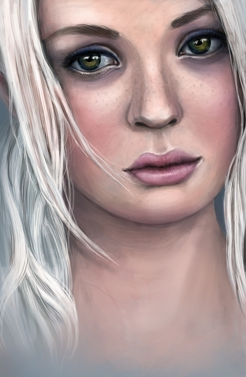 painting, characterdesign, drawing - solei-6035   ello