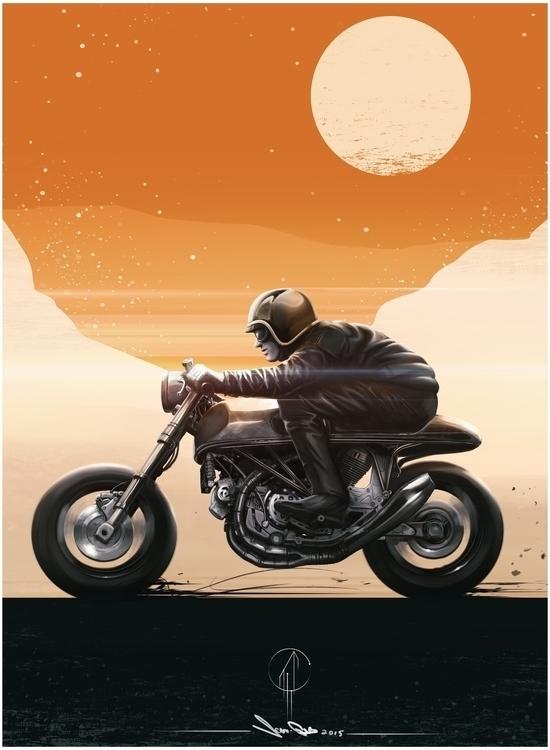 Cafe Racer - jeangab-9125 | ello