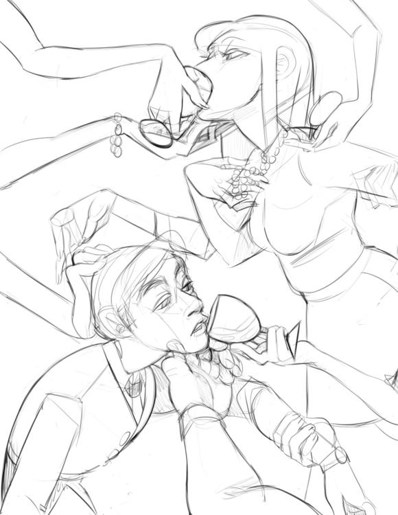 gender - illustration, wip - tartfolio | ello