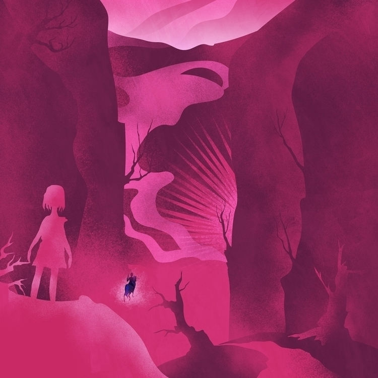 Pebble 11/28 - illustration, characterdesign - cecimonster   ello