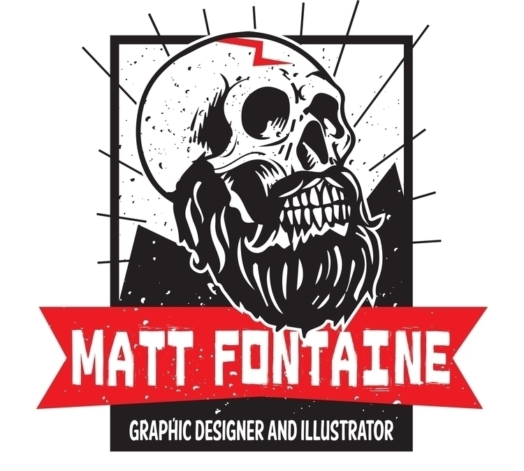 Matt Fontaine Logo. logo design - mattfontaine | ello
