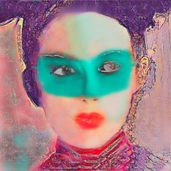 Masked Geisha - art, artwork - koartpro   ello