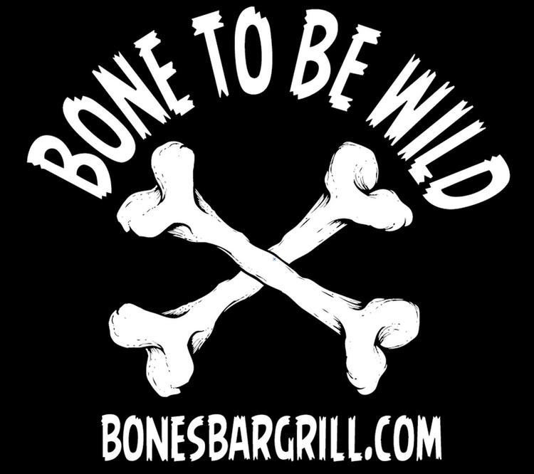 Bone Wild! Bones Bar Grill logo - mattfontaine | ello