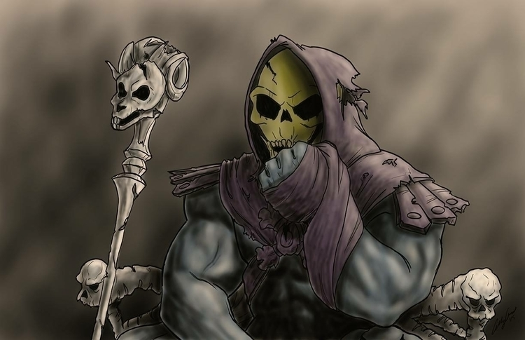 skeletor, heman, digitalart, digitalillustration - alleng-1115 | ello