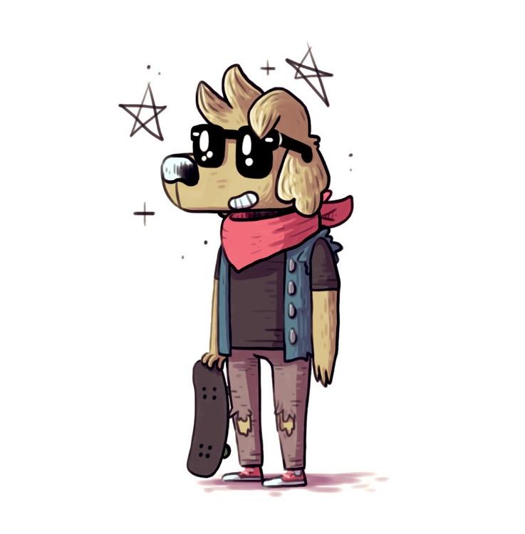 Teen Dog - teendog - indiana_jonas | ello