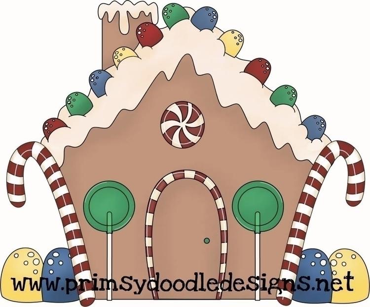Gingerbread House - illustration - lisacraig   ello
