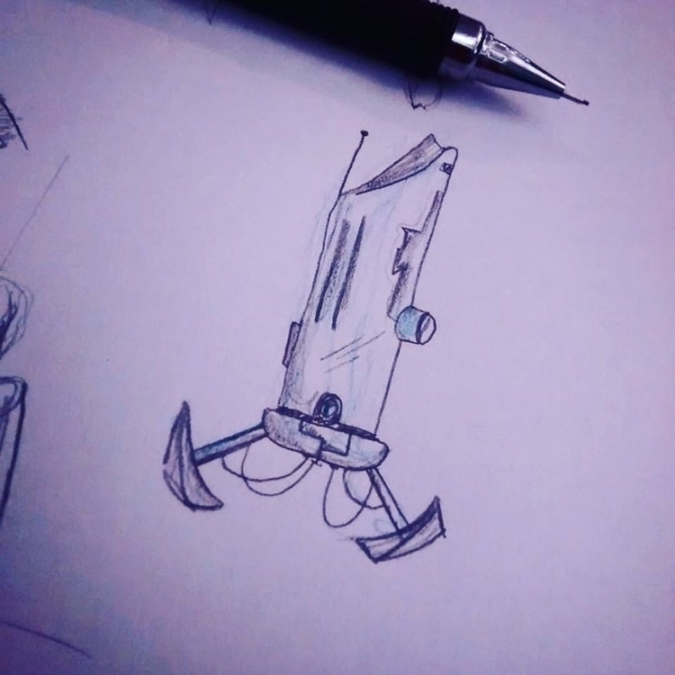Dibujando rato, probando de cre - elias89 | ello