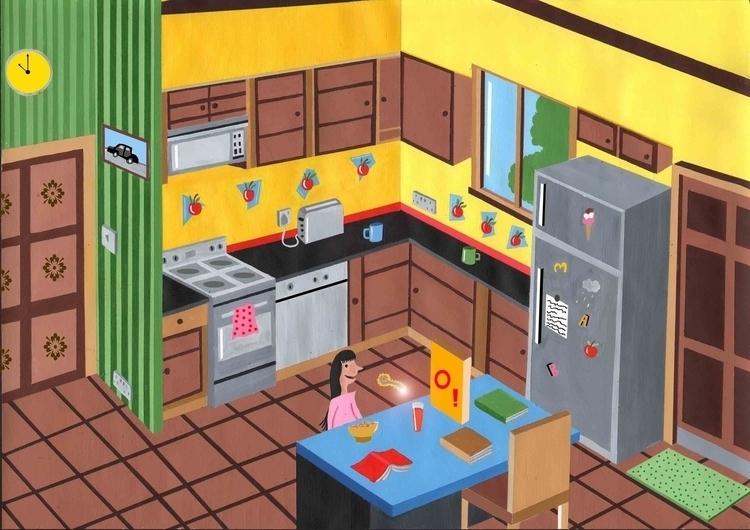 Matilda - matilda, drawing, painting - mohanballard | ello