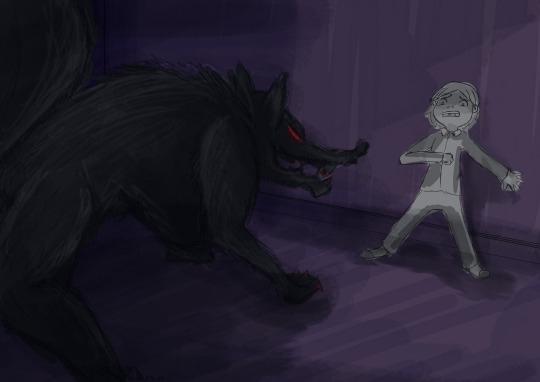 Bad wolf_Imagine - conceptart - irishpandaproductions | ello