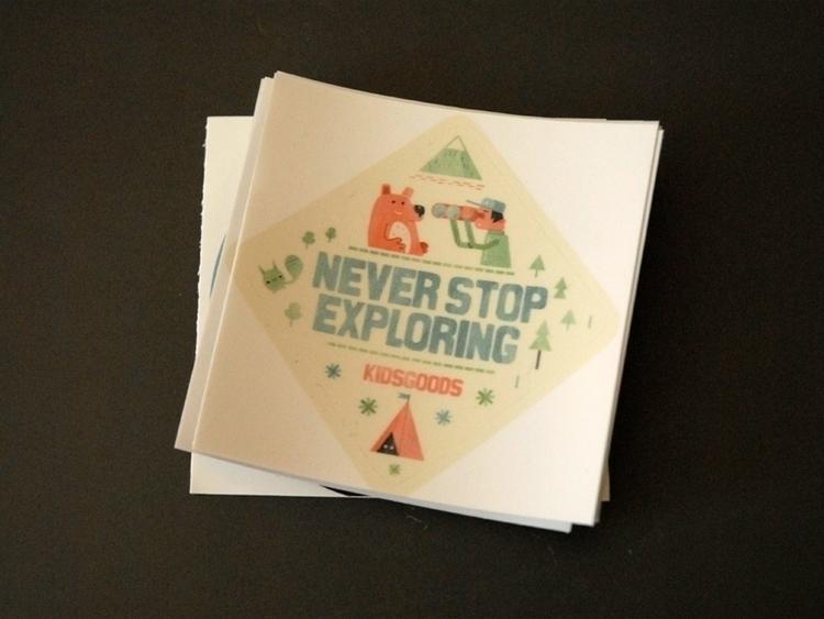 stickers - illustration, explore - schnuppe   ello