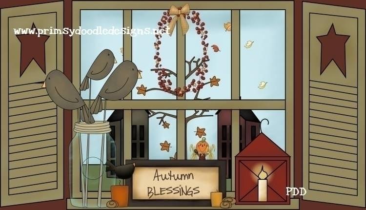 Fall Window - illustration - lisacraig | ello