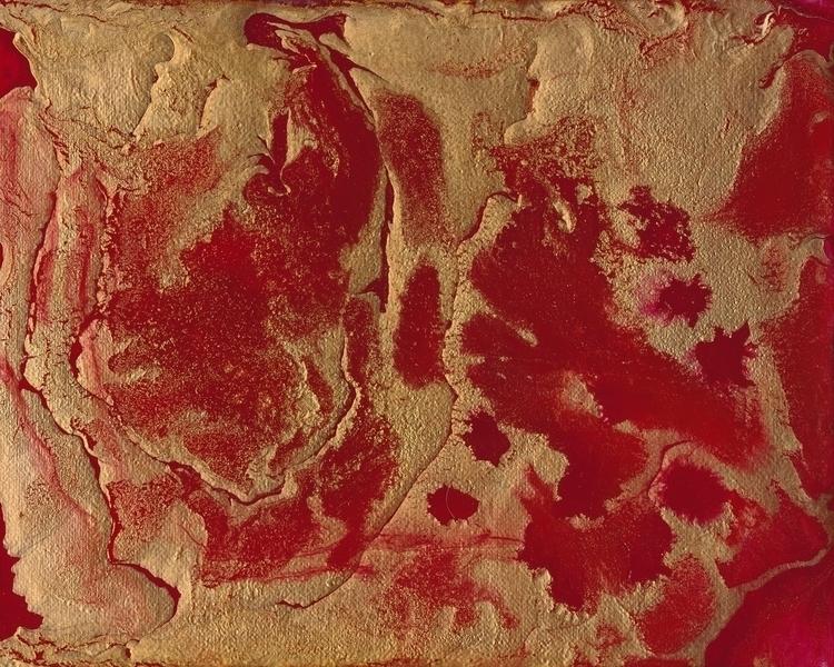 Autumn Red 2 - painting, acrylicpainting - douglasfischerfineart   ello