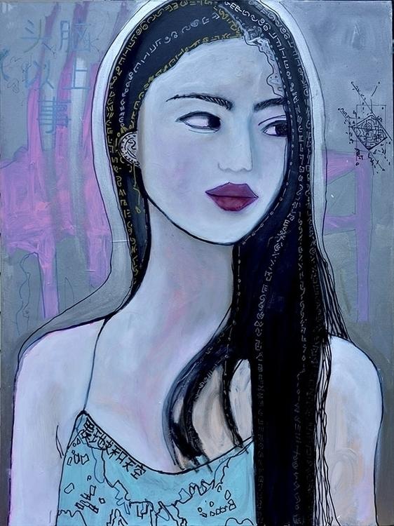 Mind Matter - Vita Kan - artwork - koartpro | ello
