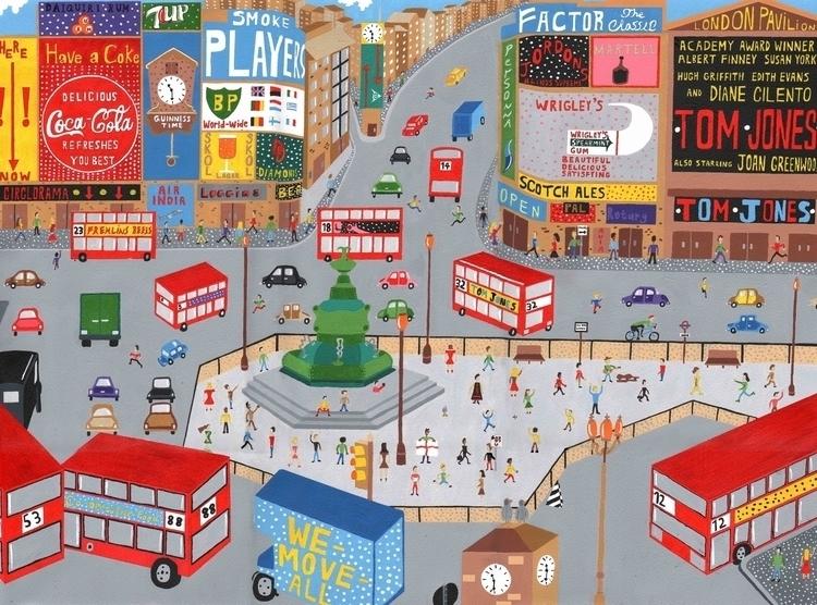 Piccadilly Circus - london, piccadillycircus - mohanballard | ello