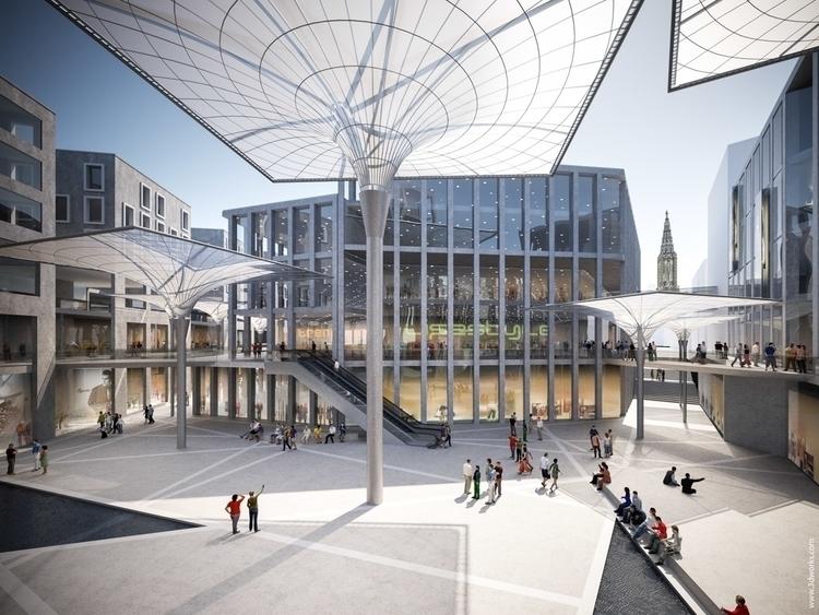 Architectural Competition - architecturalvisualisation - 3dworks | ello