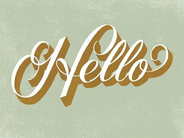 typography, lettering, handdrawntype - jcarando | ello