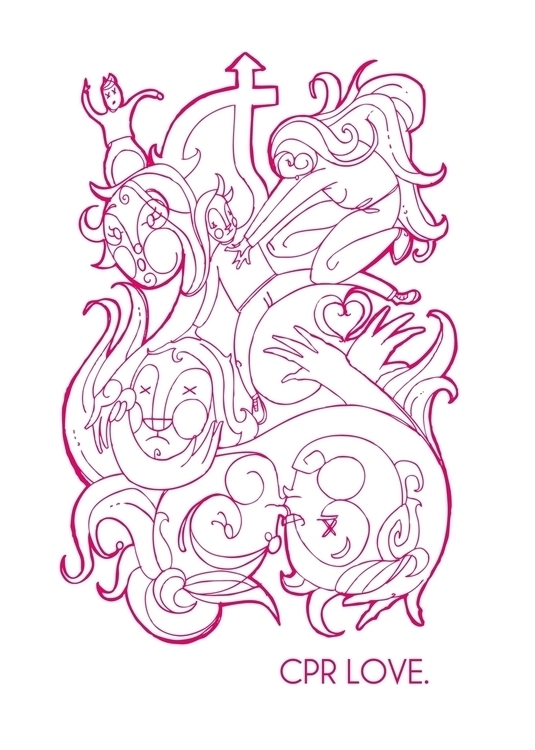 CPR love - illustration, penink - tommcclean | ello