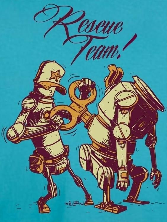 Rescue team - robot, robots, valencia - xelonxlf   ello