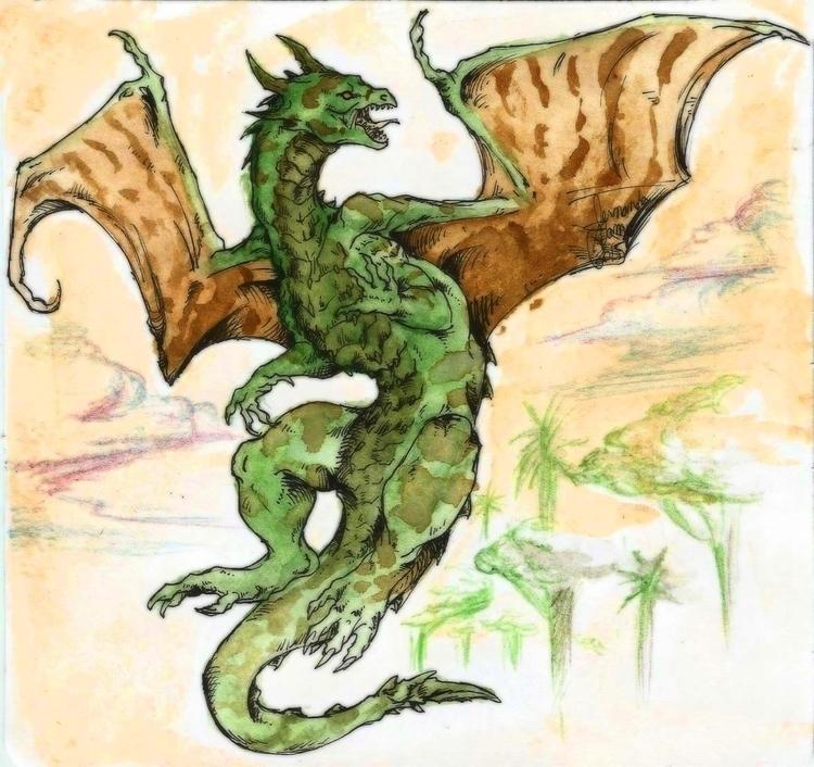 illustration, drawing, fantasy - feradami | ello