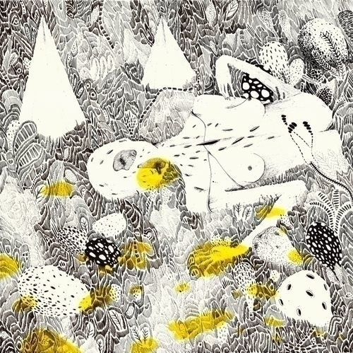 Il Giardino (2016) pen paper 40 - nevre | ello