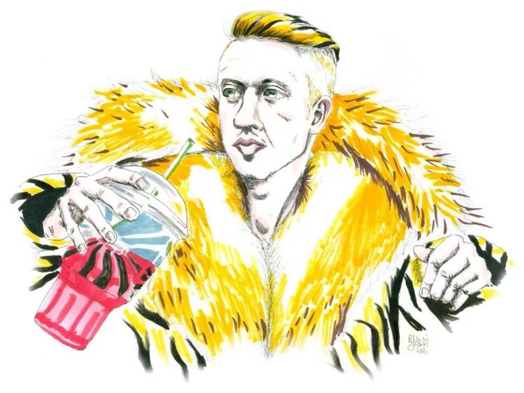 Thrift Shop - Macklemore Ryan L - yaksiart | ello
