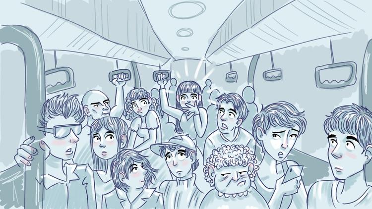 train, commute - thisjustine | ello