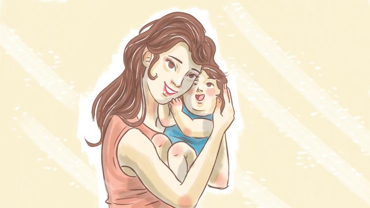 baby, mom - thisjustine | ello