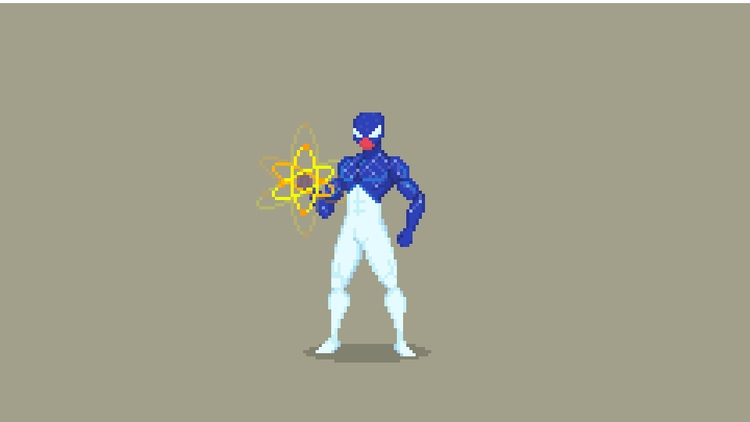 Spider-Man Pixel Art - Captain  - planckpixels | ello
