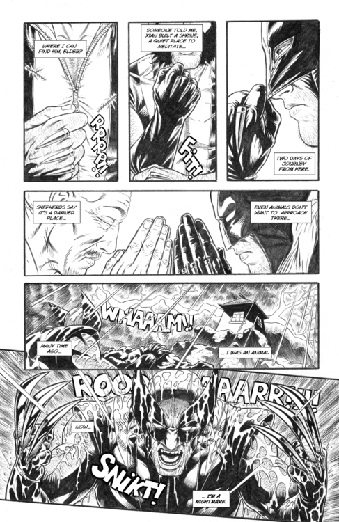 Nightmare page 20 - wolverine, comicbooks - alexfemenias | ello