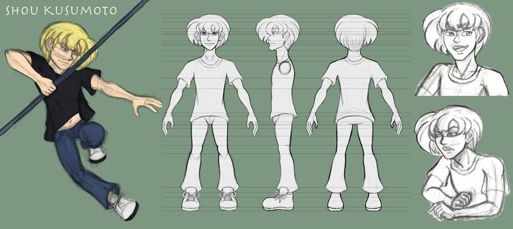 original character design, Shou - bridgetpavalow | ello