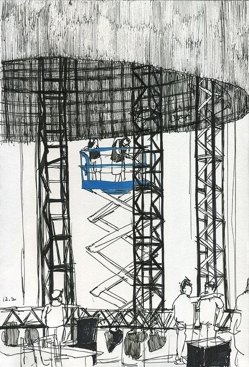 reportage, drawing, construction - ononlao | ello