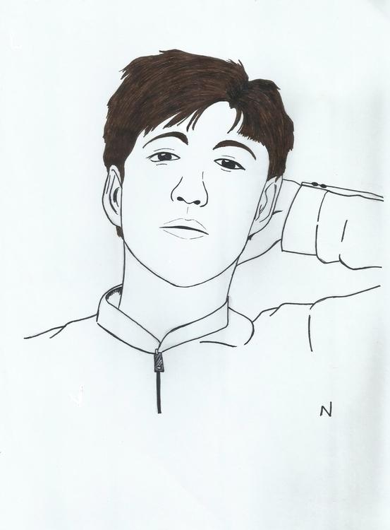 Lee Changsub - illustration, painting - novelia | ello