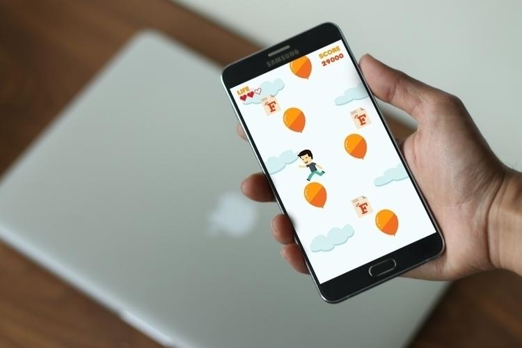 Hop Raffles - Mobile Game - illustration - cheezynguyen | ello